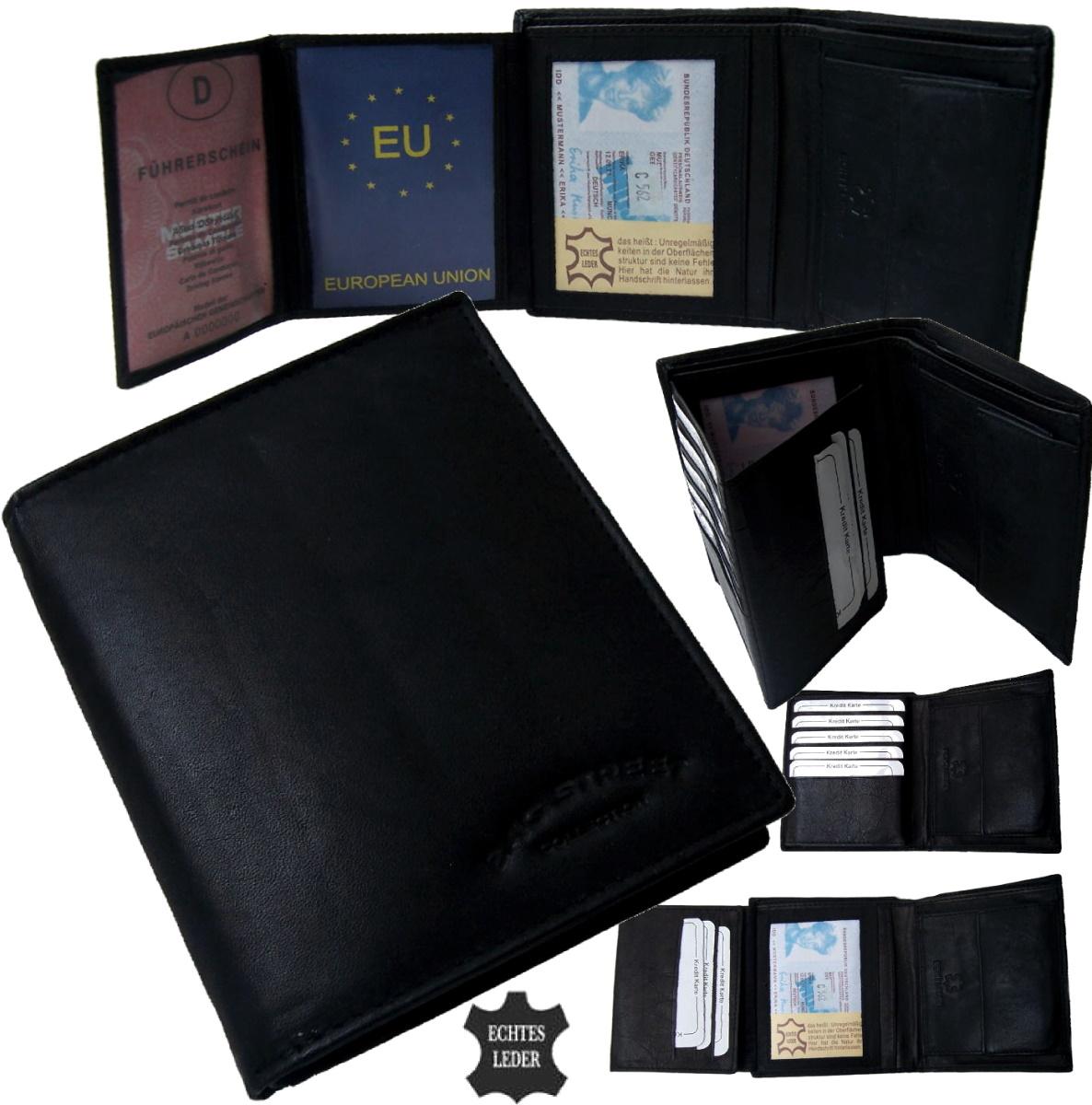 portemonnaie herren echt leder geldb rse geldbeutel portmonee brieftasche pv12 ebay. Black Bedroom Furniture Sets. Home Design Ideas