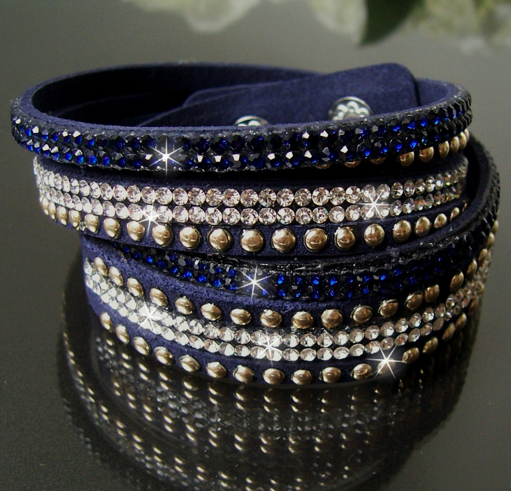 Modeschmuck armband blau