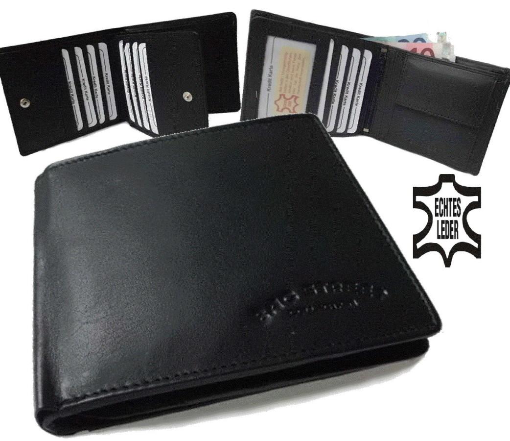 portemonnaies echt leder herren brieftasche geldbeutel geldb rse portmonee pv12 ebay. Black Bedroom Furniture Sets. Home Design Ideas