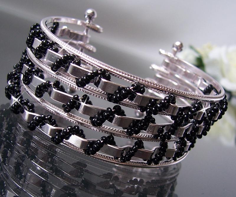 Modeschmuck armband silber  Armband Armspange mehrreihig Gold Silber Damen ModeSchmuck ...