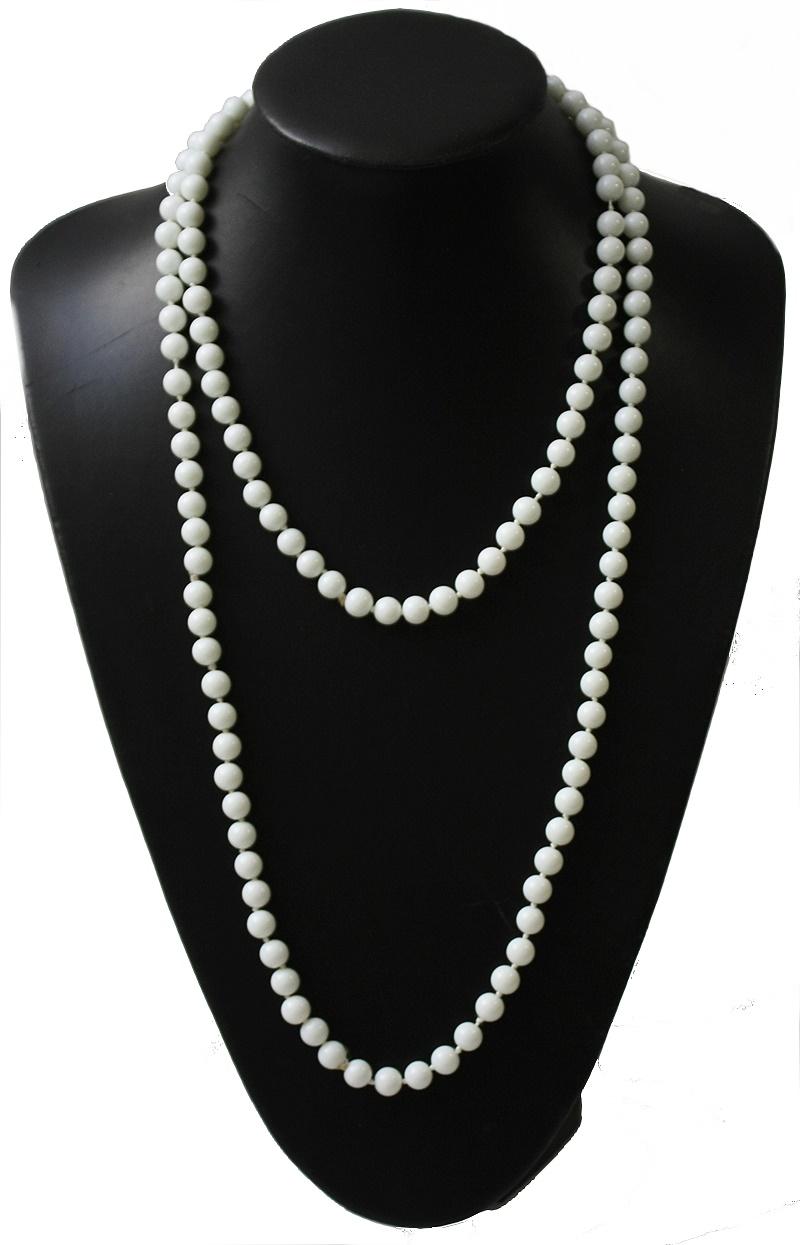 Modeschmuck armband perlen  Kette Lange Halskette Wickelkette Perlenkette Modeschmuck Armband ...